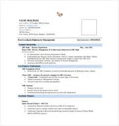 Best Resume Format For Mba Finance Fresher Best Resume Formats 40 Free Samples Examples Format