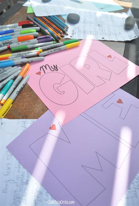 self esteem crafts for self esteem craft activity idea