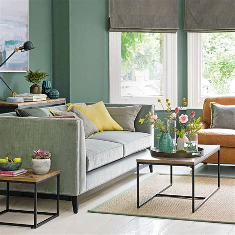 green sofa living room decor green living room ideas for soothing sophisticated spaces