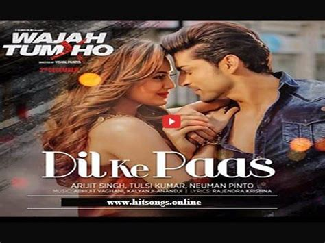 film india muskurane dil ke paas song upcoming bollywood movie wajah tum ho