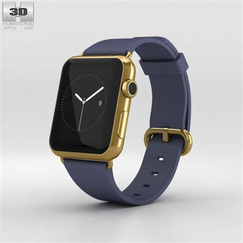 Apple 42mm Gold apple edition 42mm yellow gold blue classic