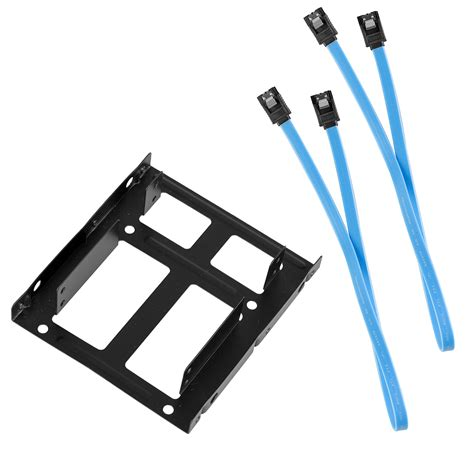 Bracket Ssd 2 5 By Data 2 5 quot dual ssd to 3 5 quot pc mount bracket drive holder