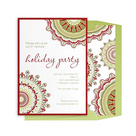 invitation sample for christmas party gallery invitation sample