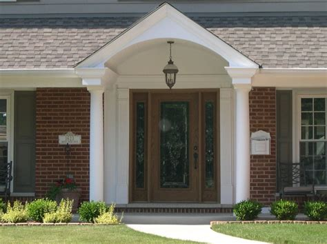 House With Front Porch by Front Porch Best Front Porch Design Using Round White