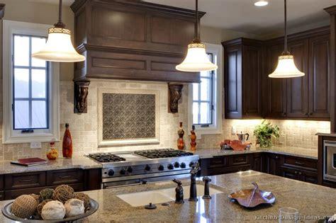 best kitchen remodel pictures of kitchens traditional dark wood walnut