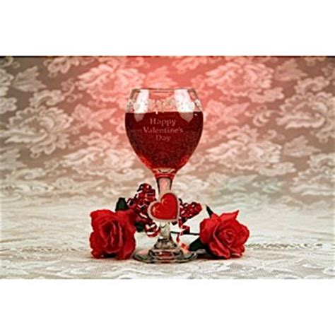 wine for valentines day s day wine glass gel candle etchtalk