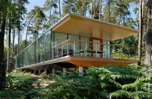 Loft Cube see though glass box house has best views of the forest