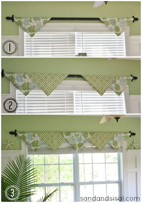 how to do window treatments best 25 kitchen window valances ideas on pinterest
