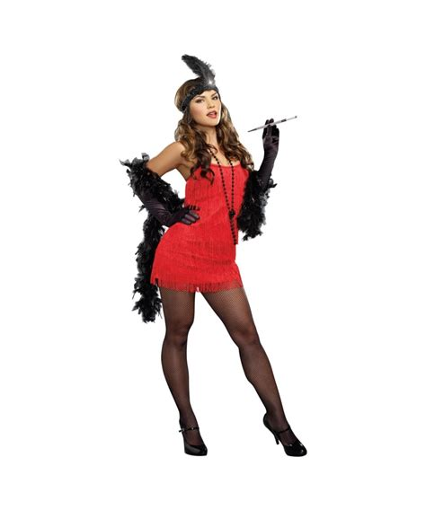plus size flapper costume 1920s costumes 20s halloween roaring red flapper 1920s gatsby 20s plus womens costume