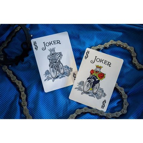 Bicycle Cyclist Blue Cards bicycle cyclist cards collectable cards