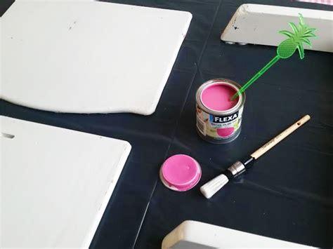schuurpapier hema diy kinderstoel make over