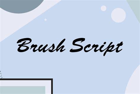 Brush Script brush script desktop font webfont youworkforthem