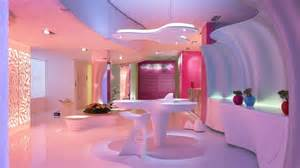 Futuristic Homes Interior Futuristic Home Interior Decorating Ideas With Colorful