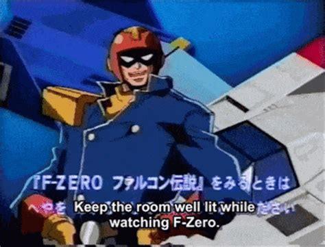 Anime F Zero by Gif Anime Nintendo Captain Falcon F Zero F Zero Falcon