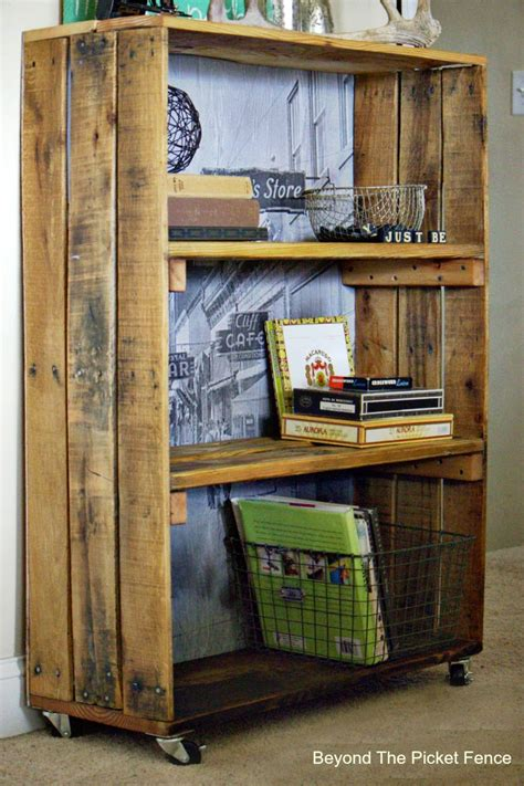 beyond the picket fence rustic industrial shelf