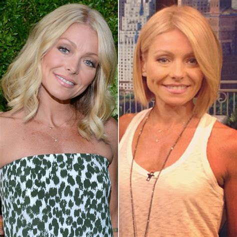 ripa hair changes ripa hair changes kelly ripa changes the colour of her