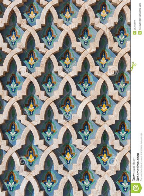 Free Online Architecture Design arabic islam wall texture casablanca morocco stock image