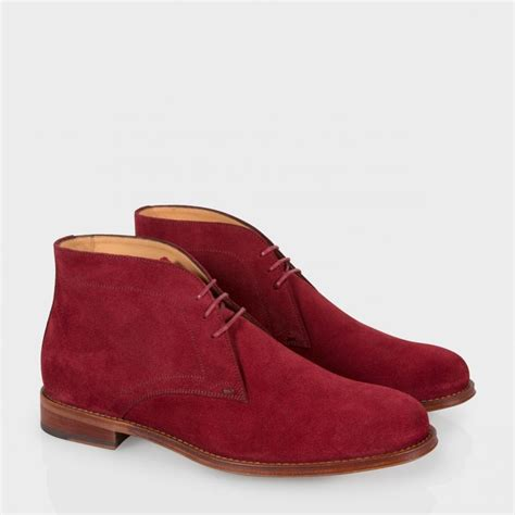 paul smith suede desert boots in for