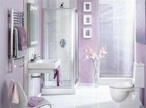 Gray And Lavender Bathroom » Home Design 2017