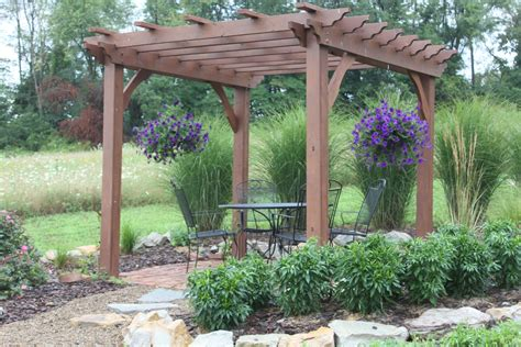 garten pergola pergolas arbors and garden structures building our farm