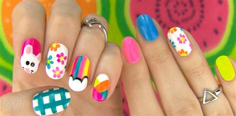 easy nail art no tools 5 nail art designs even a newbie can do without any tools