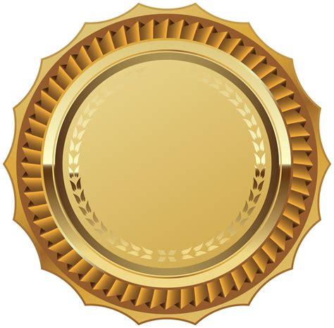 seal ribbon gold seal with ribbon png clipart image b f roundy