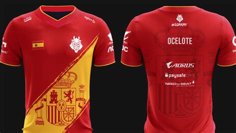 Jersey G2 Esport g2 esports releases new spain themed jersey ahead of eu