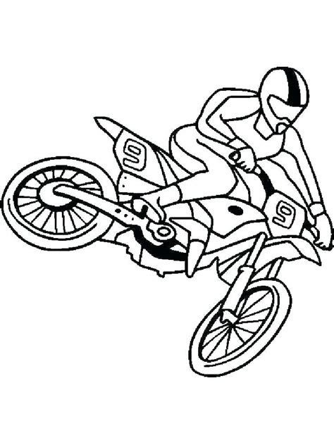 motocross bike free motocross coloring pages dirt bikes bike for free