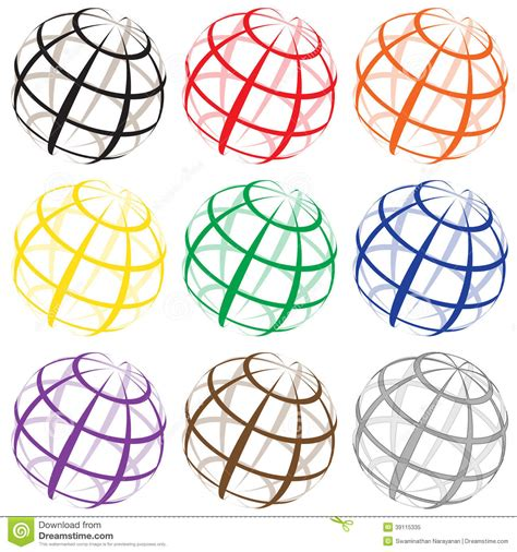 earth stock vector image 39115335