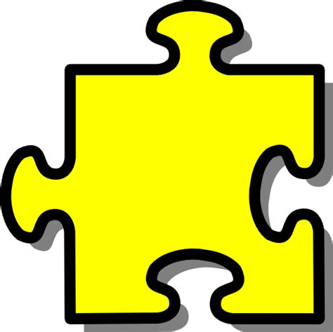 puzzle piece gallery for 3 piece jigsaw clip art image 20095