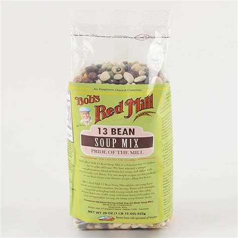 Bob S Mill 13 Beans Soup Mix 822gr bob mill 13 bean soup mix superfood indonesia