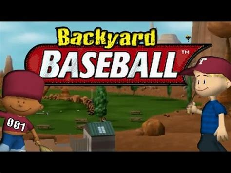 backyard baseball 2005 backyard baseball 2005 episode 1 new season youtube