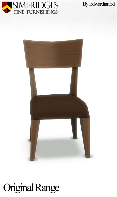 Comfort Dining Chairs Mod The Sims Mount Of Comfort Dining Chair Sims 3 Conversion