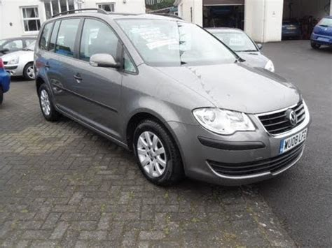 2008 vw touran diesel 7 seater for sale 01980 610231
