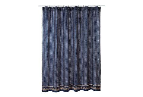 red bandana curtains bandana shower curtain navy