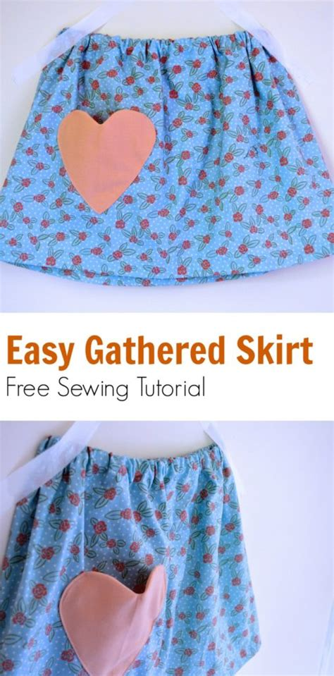 pattern cutting made easy review easy gathered skirt for girls sewing tutorial free