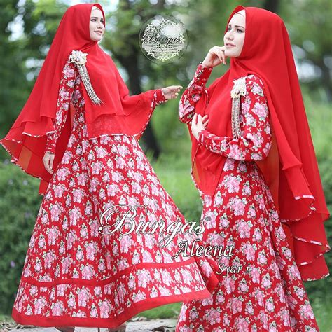 murah n ori collection aleena syar i by bungas