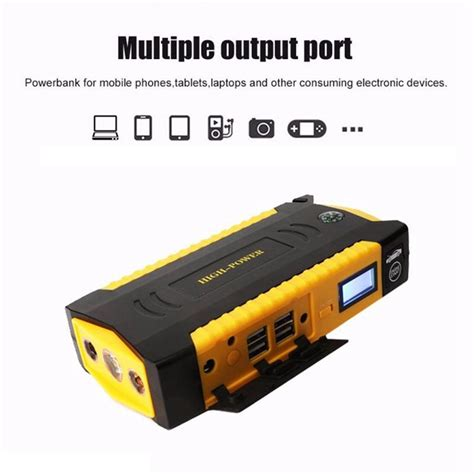Power Bank Jumbox 69800mah car jump starter portable battery charger backup charger multifunction emergency sale
