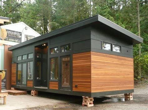 prefabricated tiny homes 450 sq ft waterhaus prefab tiny home