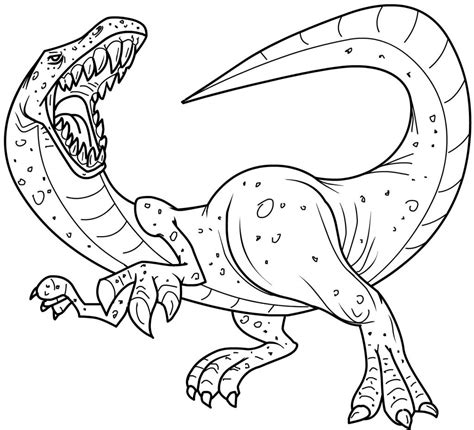 Free Printable Dinosaur Coloring Pages For Kids Free Colouring