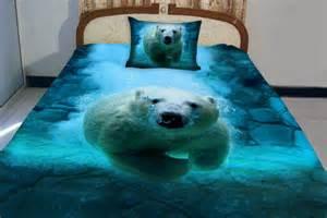 King Size Duvet Covers How To Make Items Similar To Polar Bear Quilt Bear Quilt Swimming Bear