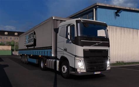 ets volvo fhfh  reworked   simulator games mods