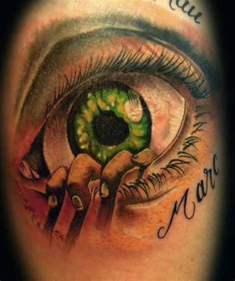 fantasy eye 3d tattoo by original tattoo