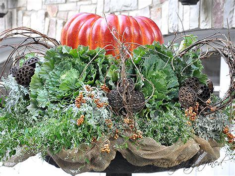 Pumpkin Planter by Serendipity Refined Fall Pumpkin Planter A