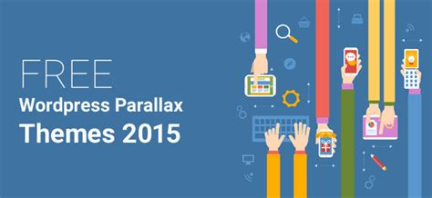 wordpress themes free logo 10 free wordpress parallax themes 2015 logo pearl