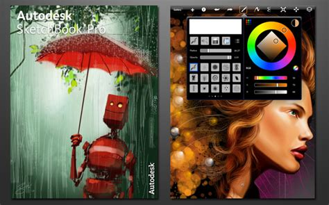 sketchbook pro digital painting 30 essential apps for designers and creatives