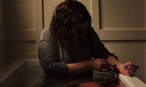 cut wrists in bathtub 13 reasons why not to watch 13 reasons why season 2