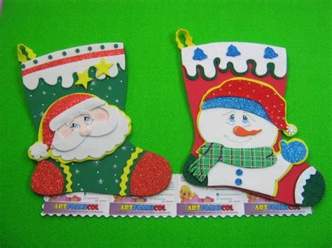 cadenas de muñecos de papel mu eco de nieve para navidad en foamy con moldes youtube