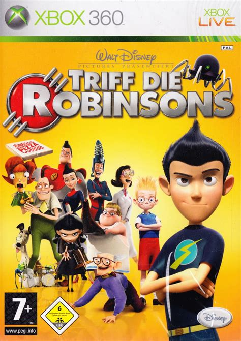 meet the robinsons 2007 xbox 360 box cover mobygames