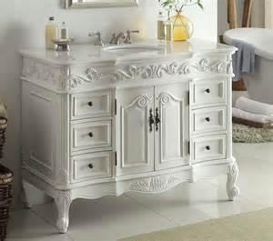 Antique White Bathroom Vanity 42 Inch Beckham Bathroom Sink Vanity Sw 3882w Aw 42